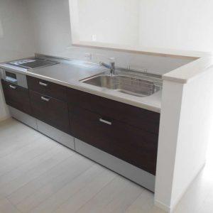 画像:行橋市D様邸のキッチンの写真
